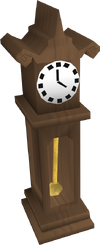 Teak Clock POH