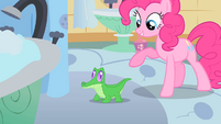 Pinkie Pie introduces Gummy S1E15