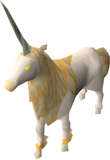 Unicorn stallion