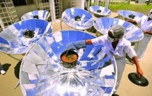 LEM Parabolic reflector research photo