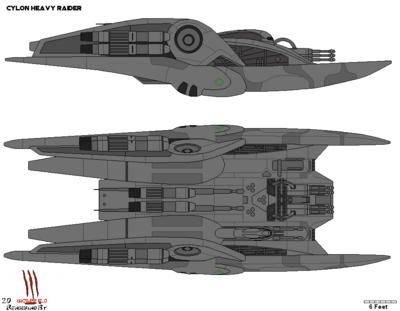 Cylon Heavy Raider