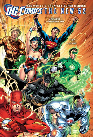 Cover for DC Comics: The New 52 (Collections) #1