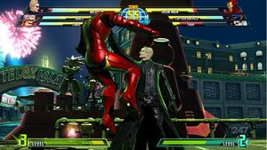 Mvc3 spidey wesker