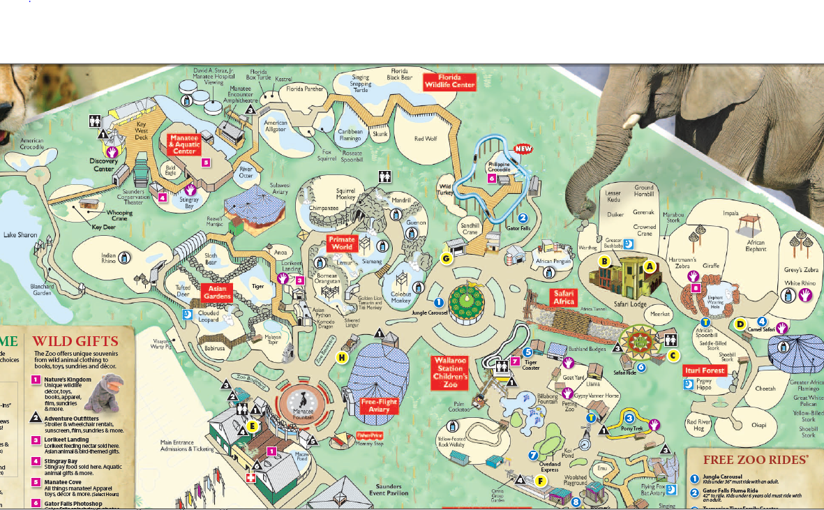 Denver Zoo Map  Wwwgalleryhip  The Hippest Pics