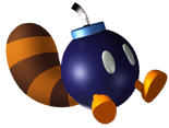Tanooki Bomb-omb SM3DW