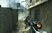 Moving towards hideout location Charlie Don't Surf CoD4