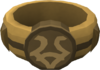 Woodcutting ring detail