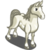 White Arabian Horse-icon