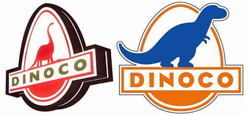 Dinoco Gas Station Pixar Animation Studios