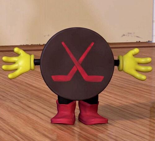 Hockey Puck Pixar Wiki Disney Pixar Animation Studios