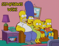 Simpsons Wiki logo