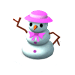 Snow Woman Deco-icon