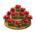 Poinsettia Pyramid-icon