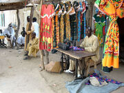 Tailor in Chad