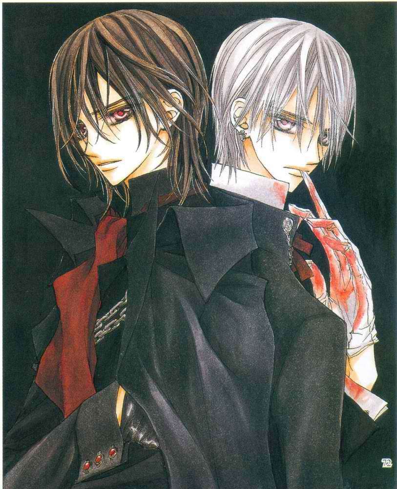 Kaname  amp  ZeroZero And Kaname Vampire Knight