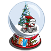 Teddy Bear Snow Globe-icon