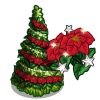 Poinsettia Tree-icon