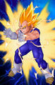 Majin Vegeta Ultimate Butoden