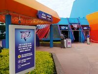 Captain EO of Epcot