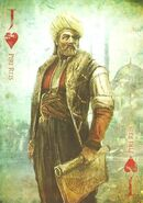 Assassins creed card piri reis