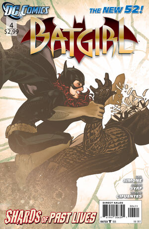 Cover for Batgirl #4