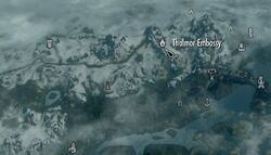Thalmor embassy map