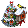 Spruce Birdhouse Tree-icon
