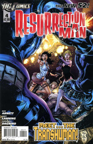 Cover for Resurrection Man #4