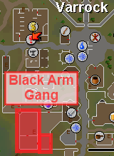 Black Arm Gang Map