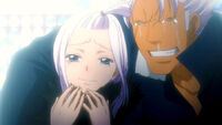 Mira and Elfman&#39;s hapiness when they saw Lisanna