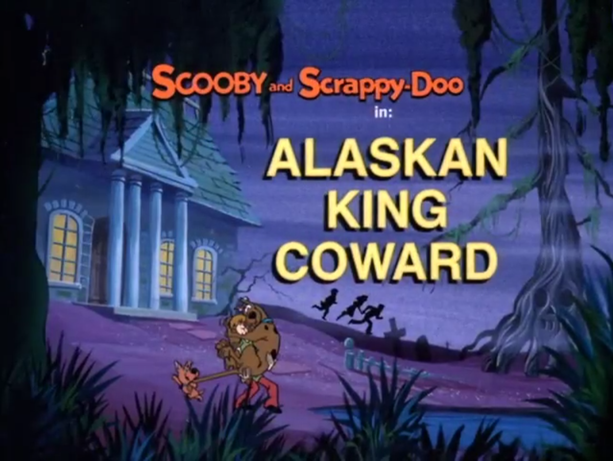 Alaskan King Coward title card
