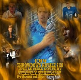 EMW Throwdown Royale 2k8 poster