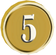 Pre-Alpha Coin &#39;&#39;5&#39;&#39;