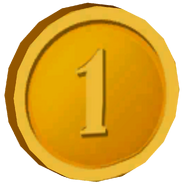 Pre-Alpha Gold Coin &#39;&#39;1&#39;&#39;
