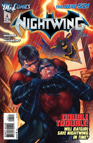 Cover for Nightwing #4
