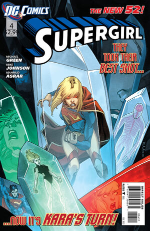 Cover for Supergirl #4