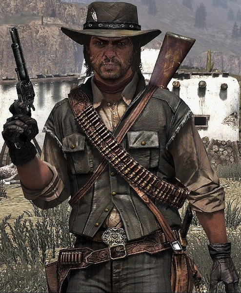 Ficha Tecnica John Marston Gamers And Cooperative