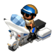 Police Motorcycle-icon