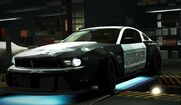 Nfs world ford mustang boss 302 the boss cop