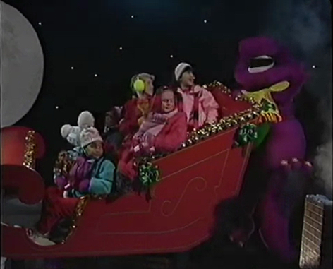 Up on the Housetop - Barney Wiki