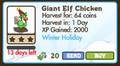 Giant Elf Chicken Market Info