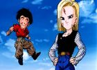 Android 18 And Krillin in bio broly