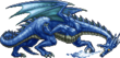 FF4PSP Blue Dragon