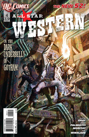 Cover for All-Star Western #4