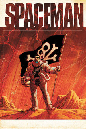 Cover for Spaceman #2