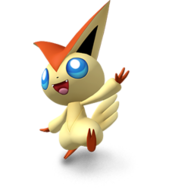 Victini en Pokedex 3D