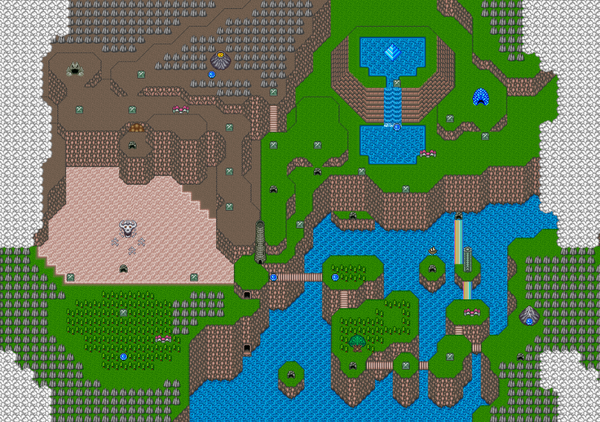 Mystic Quest Map 2