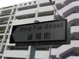 ShingFukSt Sign
