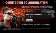 Countdown to Annihilation Reward