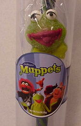 Asher candy 2003 kermit gumdrop candy cane 1